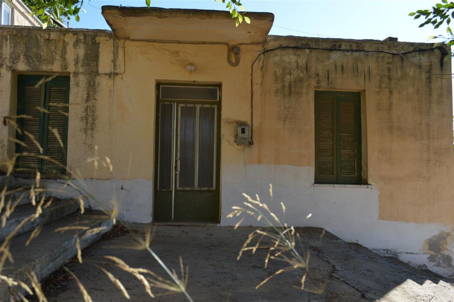 Old house in Mires south Crete Greece
